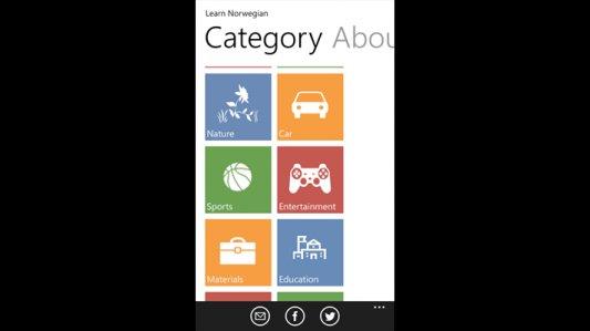 Learn Norwegian – Windows Apps