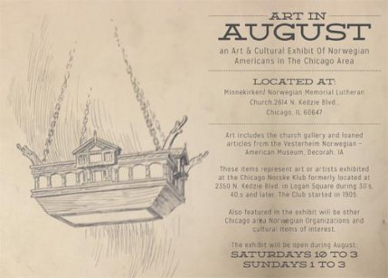 ART IN AUGUST: Please click on