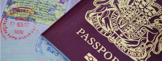 Passports & visas. British