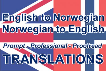 Translate English to Norwegian
