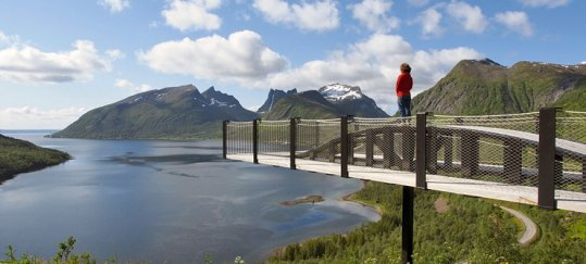 Scenic roads through Norway