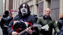 'Black Metal Street Performer' Featuring Comedian DAVE HILL (Video)