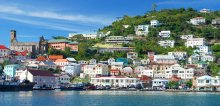 Come visit colorful St. George's in Grenada