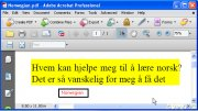 Convert Norwegian PDF to English