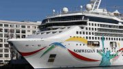 Norwegian Sky Runs aground