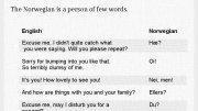 Short jokes About Norwegians