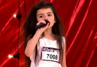 Girl, 7, wows talent show judges with amazing voice