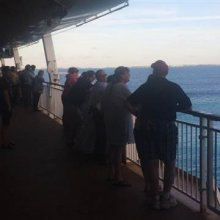 Image: The Norwegian Dawn cruise ship ran aground on its way back to Boston from Bermuda.