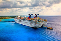Pair of Carnival Cruise Ships