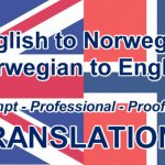Best Norwegian English Translator