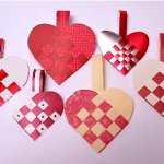 Make Norwegian Heart Baskets