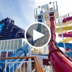 Which Norwegian Ships have Water Slides?