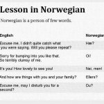 Why is Norwegian Hard to Learn?