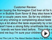 for kids - Norwegian Cod Liver Oil Review