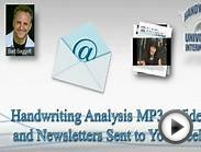 Learn Handwriting Analysis - Free Basic Course