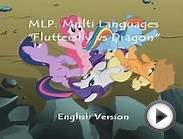 MLP FiM - Fluttershy vs Dragon - Multi Language Version