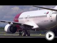 Norwegian Airlines Take Off
