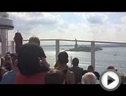 Norwegian Breakaway leaving New York