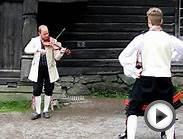 Norwegian Folk Dancing