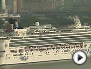 Norwegian Gem Departs New York (July 7, 2012)