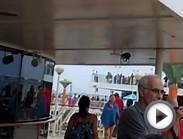Norwegian Jewel Cruise Ship Leaving New York (8/13/11) (2