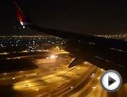 Norwegian landing at Dubai International Airport
