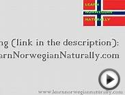 Norwegian Listening and Pronunciation Practice - Read