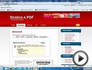 Search a PDF | How to find PDF files on the web
