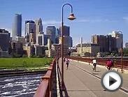 USA BEAUTIFUL DOWNTOWN MINNEAPOLIS MINNESOTA ! TWIN CITIES