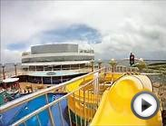 Water Slide on the Norwegian Gem