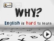 Why is English hard to learn - Same words different